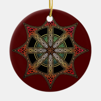 Chaos Star Pendant/Ornament Ceramic Ornament