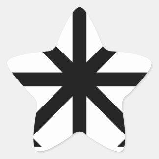 Chaos Star Star Sticker