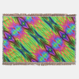 Chaos Storm 21 Throw Blanket