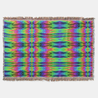 Chaos Storm 2 Throw Blanket