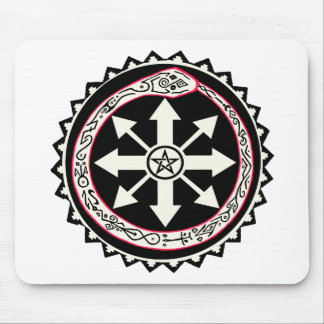 Chaos with Ouroburos Snake Mouse Pad