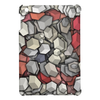 Chaotic 3D Cubes iPad Mini Cover