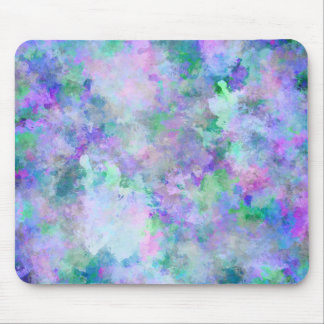 Chaotic Abstract Painting Mouse Pad