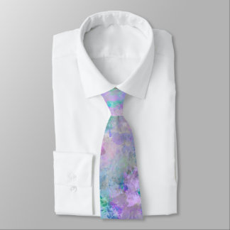 Chaotic Abstract Painting Tie