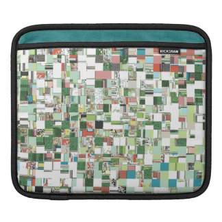 Chaotic Clusters of Green iPad Sleeve