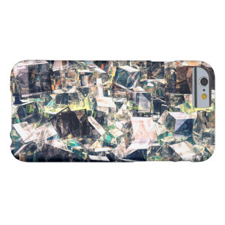 Chaotic Collection of Cubes Barely There iPhone 6 Case