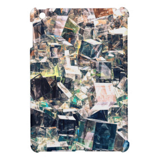 Chaotic Collection of Cubes Cover For The iPad Mini