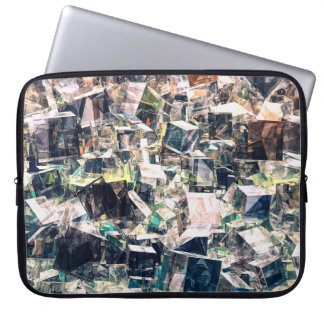 Chaotic Collection of Cubes Laptop Sleeve