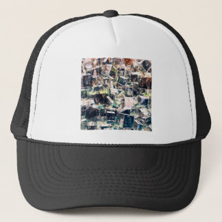Chaotic Collection of Cubes Trucker Hat
