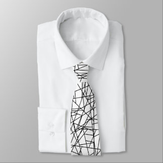 Chaotic lines tie
