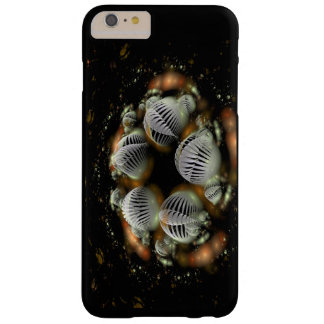 Chaotic Spirals and shells Barely There iPhone 6 Plus Case