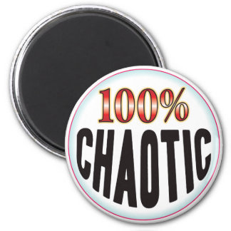 Chaotic Tag Refrigerator Magnet