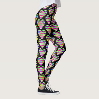 Chaotik3D Psychedelic Heart Leggings