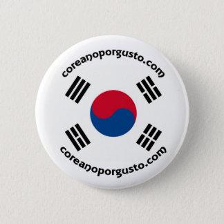 Chapa de Coreano por gusto 2 Inch Round Button