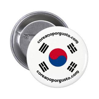 Chapa de Coreano por gusto Buttons
