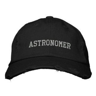 Chapeau brodé par astronome