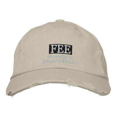 Chapeau brodé par HONORAIRES