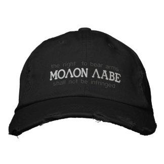 Chapeau brodé par Labe de Molon