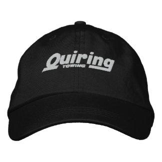 Chapeau brodé par remorquage de Quiring