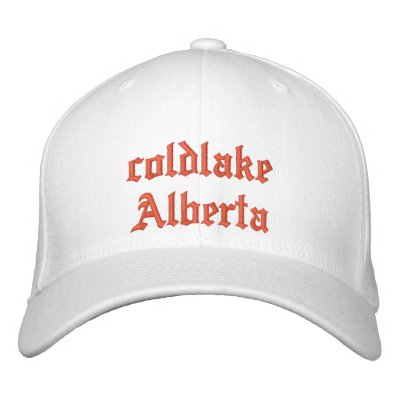 chapeau d'Alberta de coldlake Casquettes Brodées
