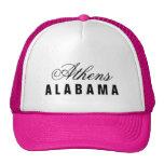 Chapeau d'Athènes, Alabama Casquettes De Camionneur