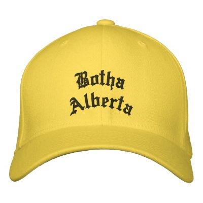 Chapeau de Botha Alberta Casquette Brodée