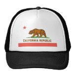 Chapeau de camionneur de la Californie Casquettes De Camionneur