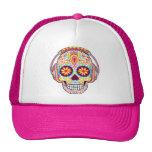 Chapeau de crâne de sucre - jour du casquette mort