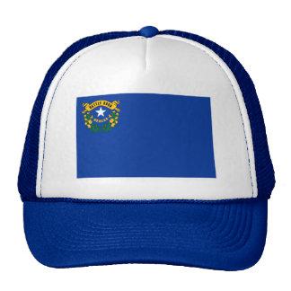 Chapeau de drapeau du Nevada Casquettes