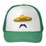 Chapeau de fiesta de Cinco De Mayo de moustache et Casquettes De Camionneur