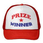 chapeau de gagnant du prix casquettes de camionneur