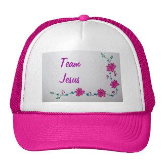 Chapeau de Jésus d'équipe Casquette Trucker