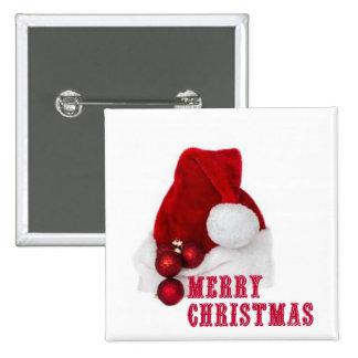 Chapeau de Joyeux Noël Badges