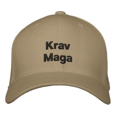 Chapeau de Krav Maga Chapeau Brodé