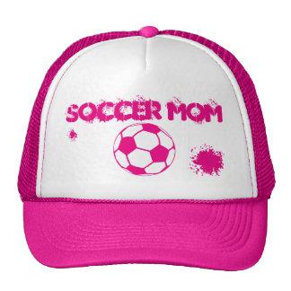 Chapeau de maman du football casquettes de camionneur
