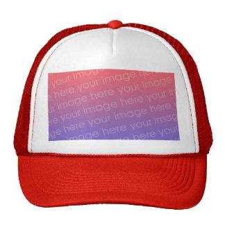 Chapeau de photo casquette de camionneur