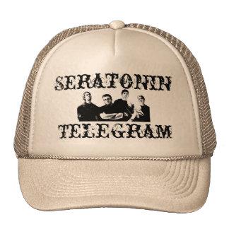 Chapeau de photo de télégramme casquettes