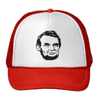 Chapeau de portrait d Abraham Lincoln Casquettes De Camionneur