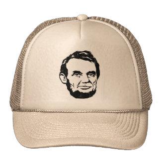 Chapeau de portrait d'Abraham Lincoln Casquettes