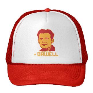 Chapeau de portrait de George Orwell Casquette De Camionneur