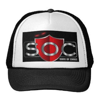 Chapeau de SOC Casquette Trucker
