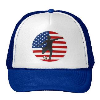 Chapeau du football des femmes des Etats-Unis de d Casquettes