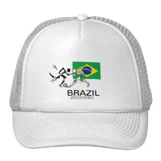 Chapeau du football du Brésil Casquette De Camionneur