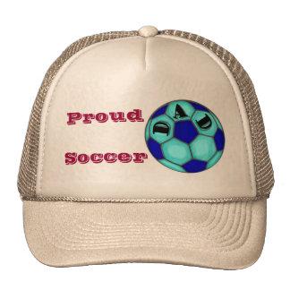 Chapeau fier de papa du football casquette de camionneur