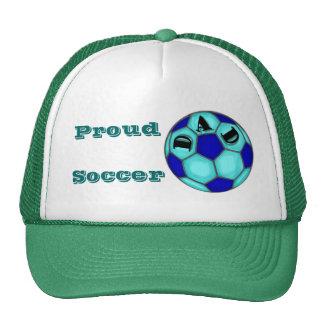 Chapeau fier de papa du football casquettes de camionneur