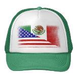 Chapeau grunge mexico-américain vintage de casquette