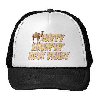 Chapeau heureux de partie de la nouvelle année 201 casquettes de camionneur