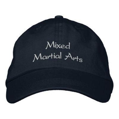 Chapeau mélangé d'arts martiaux casquette brodée