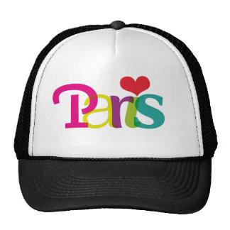 Chapeau mignon de souvenir de Paris Casquette De Camionneur