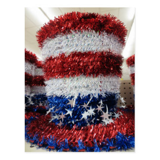Chapeau patriotique carte postale